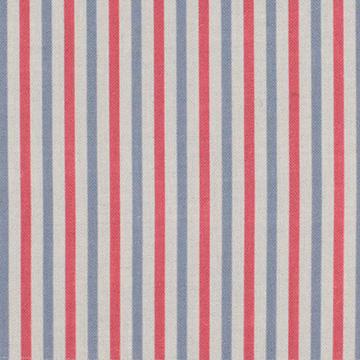 "Alex Conroy Textiles ""Small Stripe"" in Ruby"