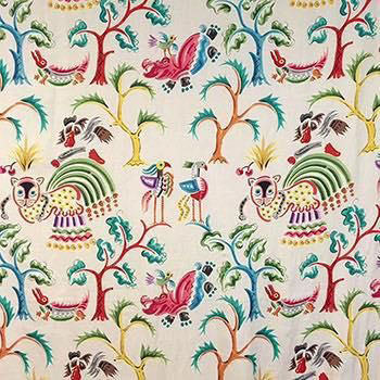 "Clarence House ""Huberta Print"""