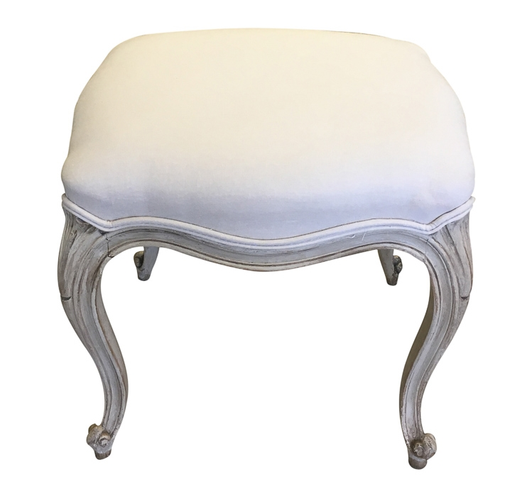 Louis-Style Footstools before reupholstery | Revitaliste