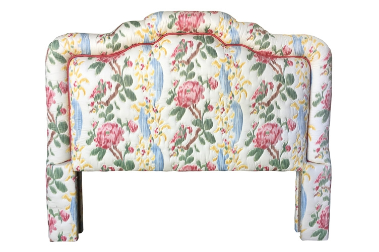 Vintage Upholstered Headboard before reupholstery | Revitaliste