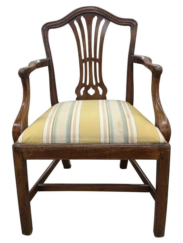 Antique Chippendale Chair before reupholstery | Revitaliste