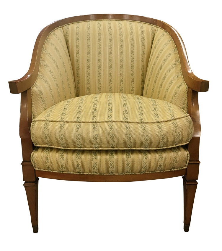 Vintage Italian Arm Chair before reupholstery | Revitaliste