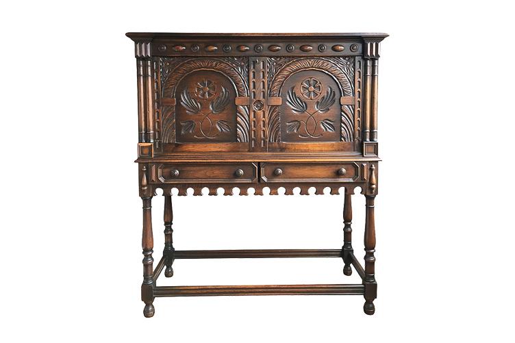 Antique Secretary Desk before restoration | Revitaliste