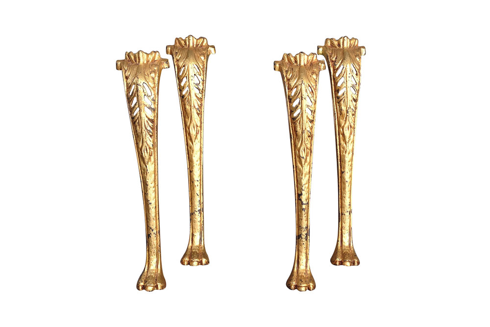 Vintage Gilded legs ready to be revitalized | Revitaliste