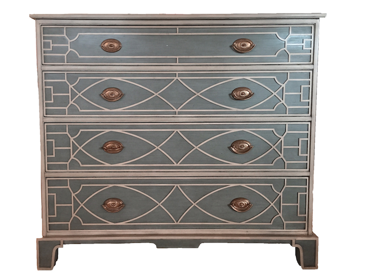 Trellis Fretwork Dresser before revitalization | Revitaliste