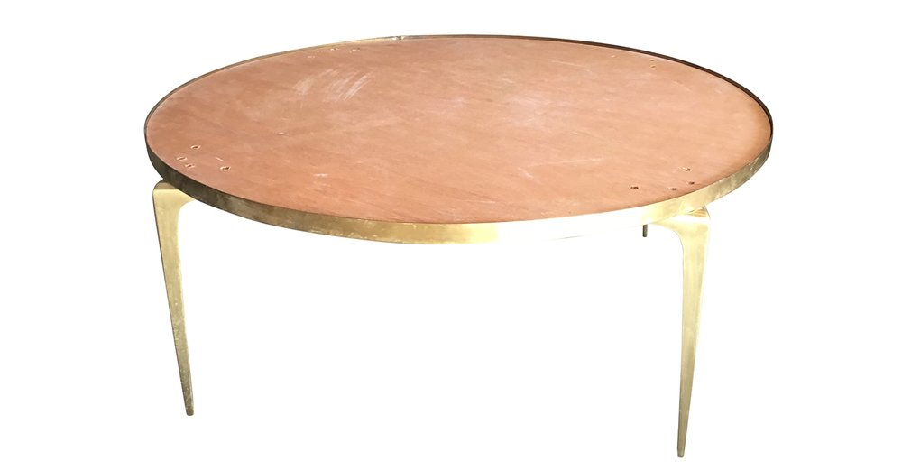 Brass Coffee Table before restoration | Revitaliste