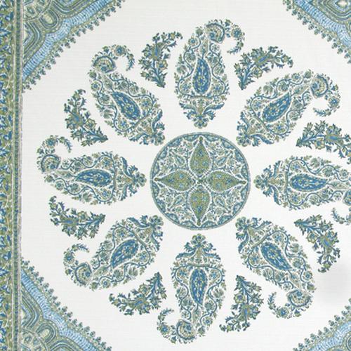 """""""Samarkand"""" in Green on White"""