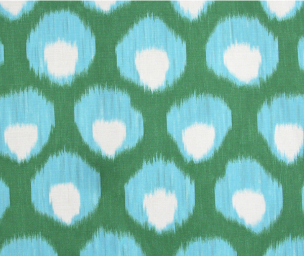 """""""Bukhara Outdoor"""" in Blue/Green"""