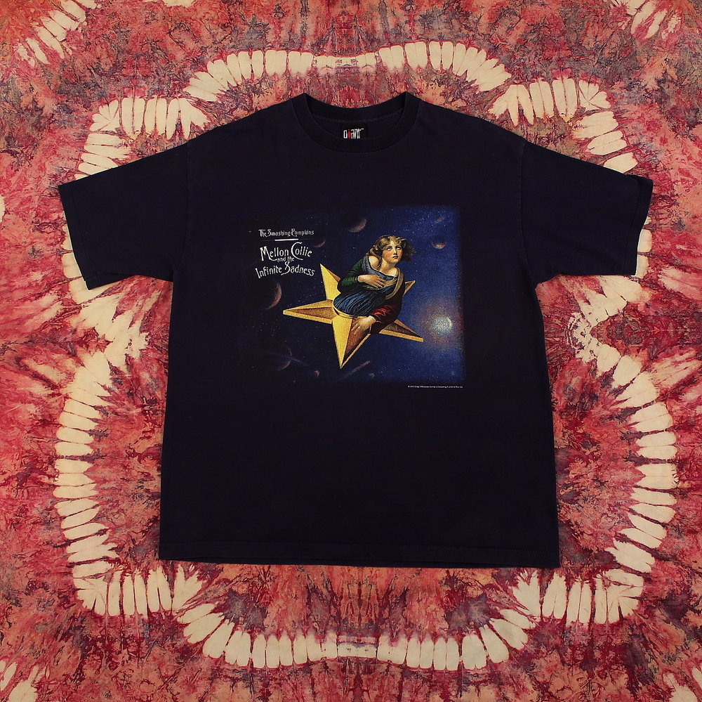 70a422ebf6e The Smashing Pumpkins Vintage T-Shirt    Melon Collie + Infinite Sadness  Tour — Hellhound Vintage