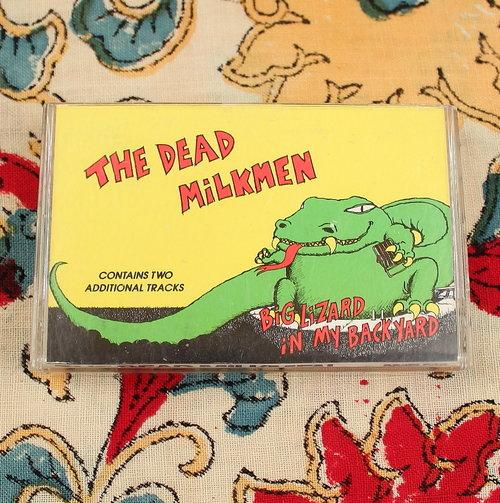 Lizard In My Backyard the dead milkmen // big lizard in my backyard — hellhound vintage