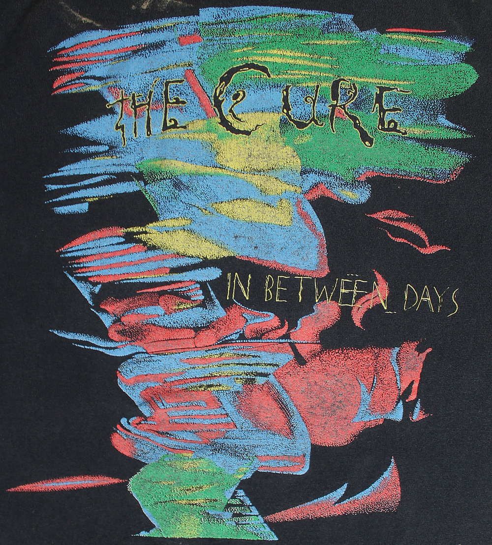 115bd0c8b75 ViNtAgE The Cure T-Shirt    1986    RARE In Between Days — Hellhound Vintage