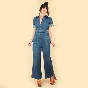 af0a08b579b  hellhoundvintage  hhvdenimdaze vintage 70s denim overalls jumpsuit  hellhound vintage hellhoundvintage jeans biboveralls denim vintage