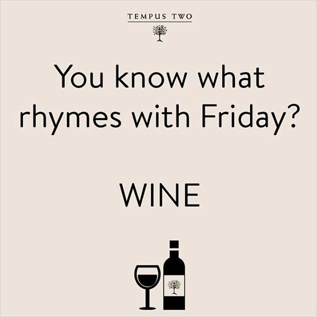 Coincidence? I think not! Anyone have fun plans for the 3-day weekend?  #fridayfunday #longweekend #winenot