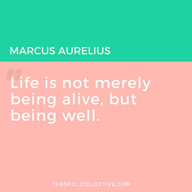 Quote Of The Day: Life Is Not Merely Being Alive.