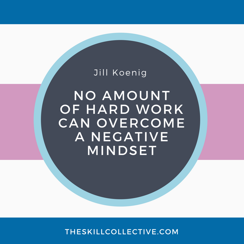 quote of the day no amount of hard work can overcome a negative