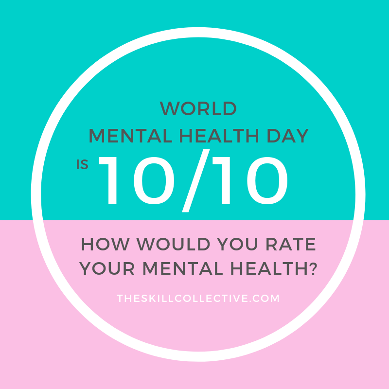 World Mental Health Day 2018 Mental Health Checkup Anxiety Depression Counselling Psychologist Subiaco Perth