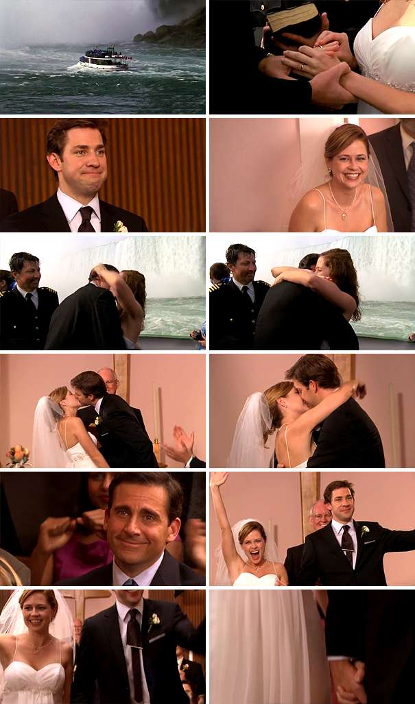 It's fine. I'm on Season 6 & watched the wedding episode last night. It's just the best. I lost it a bunch of times.