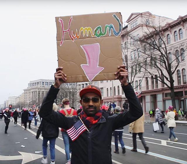 #NOBAN #NoBanNoWall #ResistTrump [link in bio]