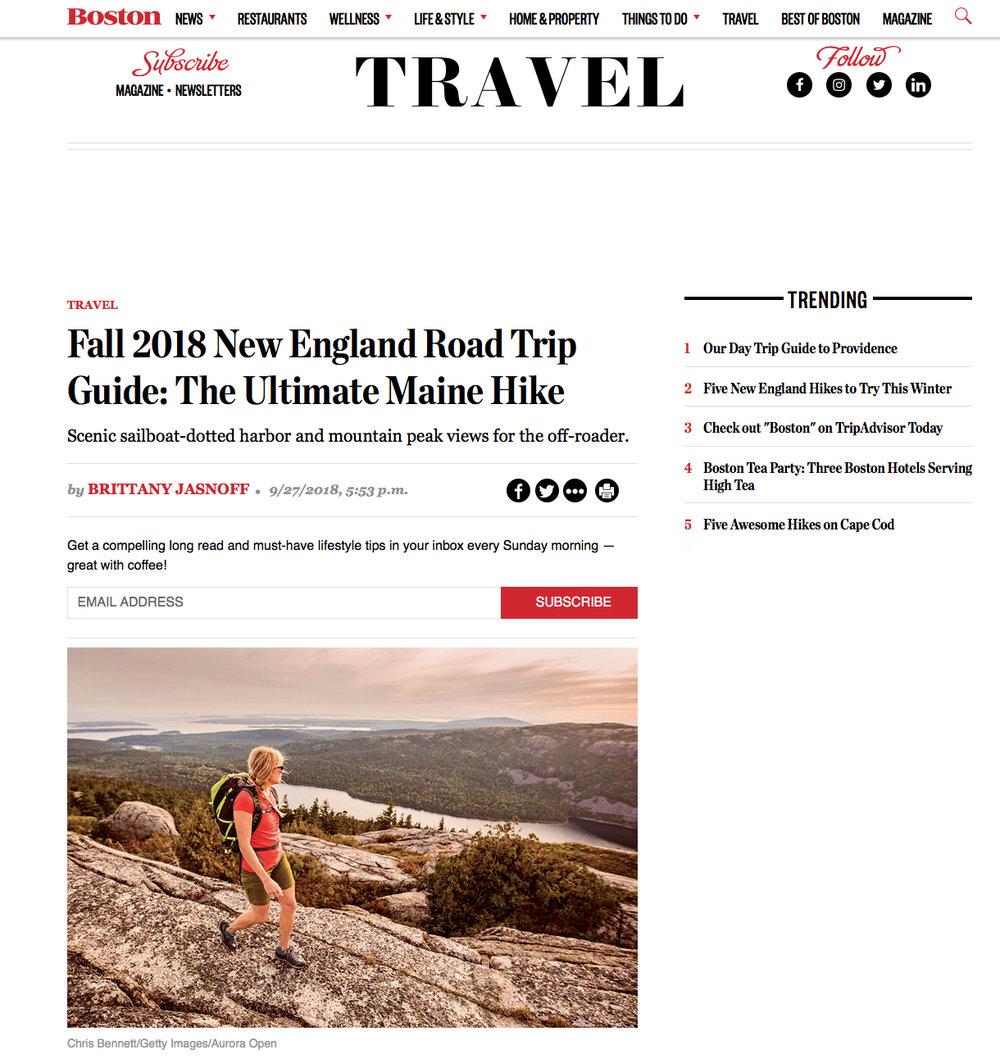 Boston Magazine September 2018