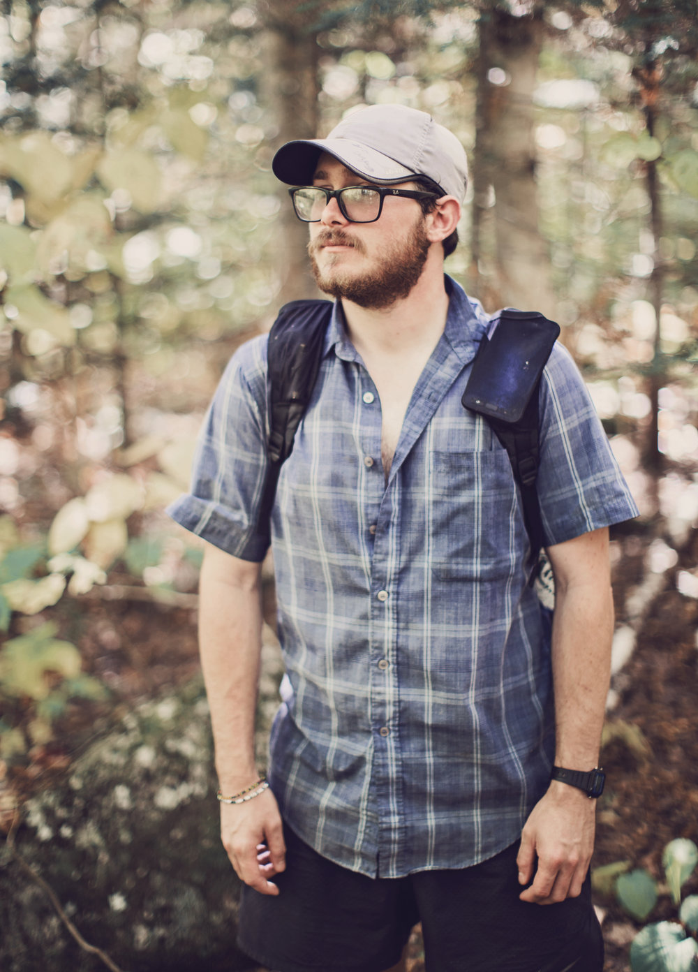 "This is Richard's second thru hike, he has previously done the Pacific Crest Trail in 2014. Recently he had felt the pull of long distance hiking so he decided to hike the AT and started on May 4th in Georgia… except nothing has gone to plan. While only 100 miles into his hike he got a call that his mom had passed away. When he got home he learned the details. She had been murdered while on her way home from Wal-Mart one night. After being home for several weeks and dealing with the after-death details, he realized that his mom wouldn't want him to sit around and be sad. On June 4th he decided to get back on the trail and keep hiking. He found to be the trail to be healing, and although he had to keep getting off to deal with issues surrounding his mom's death, Richard always looked forward to getting back on the trail. ""I've made a lot of really great friends, thru hiking is a great way to heal. At first it was really hard, I would sit at night and cry. I'd have nightmares and think of all the things I wish I could have said but didn't. But when all you have to do is hike all day, you get a lot of time to think. You don't have to work, you don't have stuff to do, your're forced to face the problems that come at you. I've heard so many stories of addicts and people in bad relationships hiking and using the trail as a way to heal. Its not a cure all but it definitely helps. I'm thankful to be out here."""