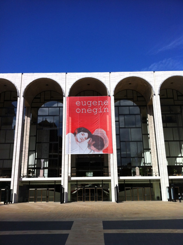 The Metropolitan Opera, NYC, 2013