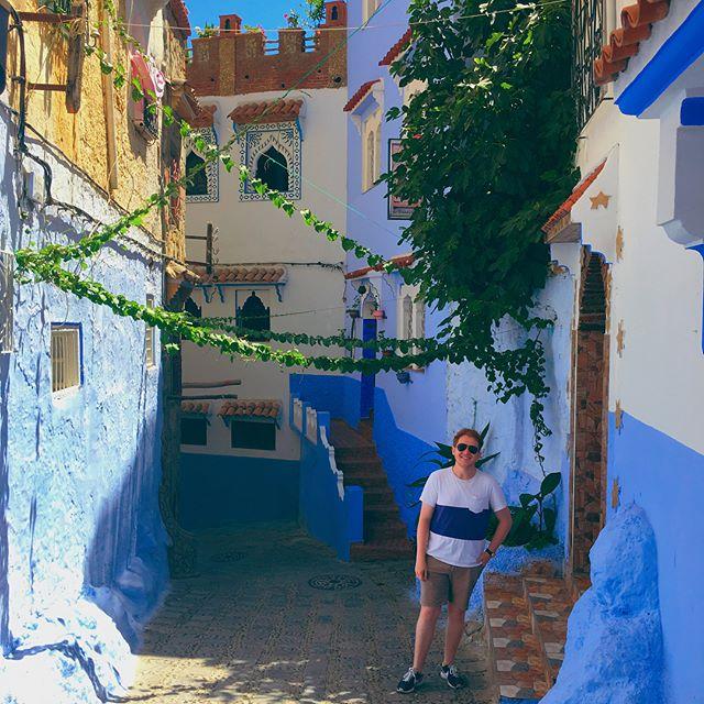 Feeling a little blue #Morroco 🇲🇦