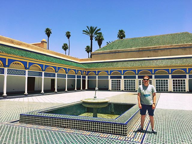 Marrakech me outside at the Royal Palace #Morroco 🇲🇦