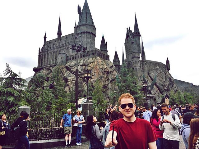 I'm sure you're all wondering what I've decided to do after I finish my master's degree this semester. Well I'm happy to announce my acceptance into Hogwarts School of Witchcraft and Wizardry. See you in 7 years!