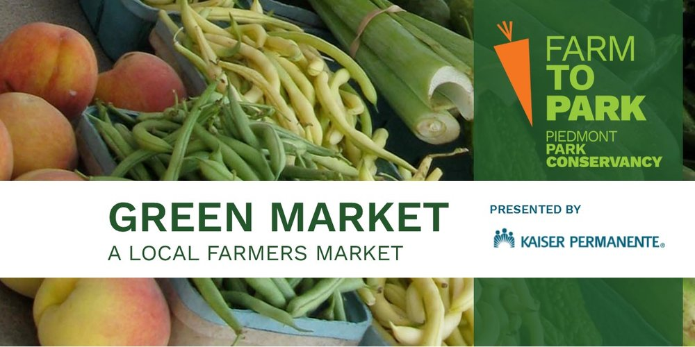 The Green Market @ Piedmont Park | March to November, 2018