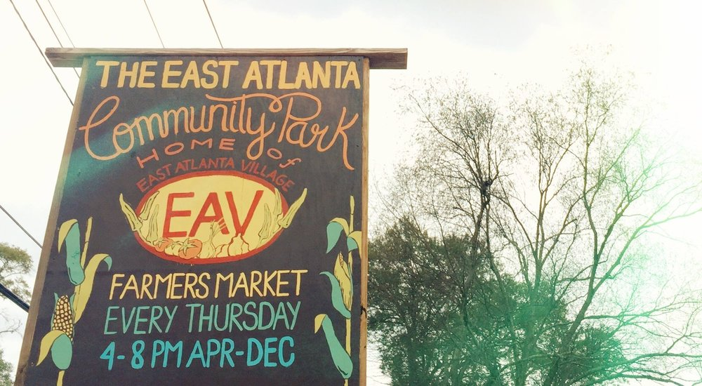 East Atlanta Village Farmers Market | April to November, 2018