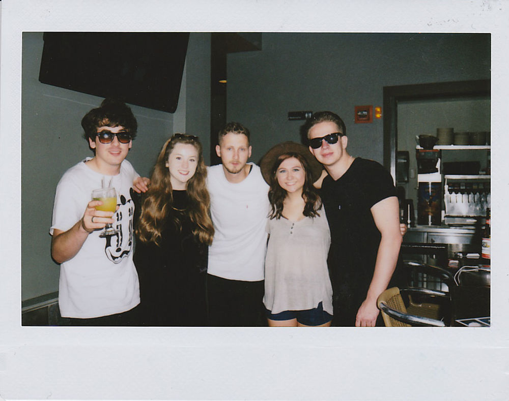 Bailey and Kindle with Circa Waves