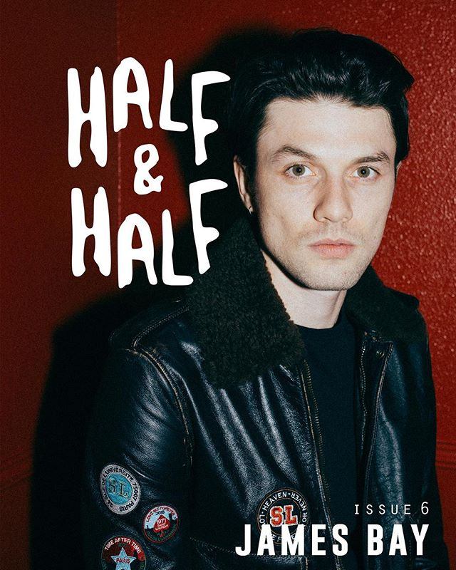 Tomorrow @jamesbaymusic releases his second album, Electric Light, and we are here to celebrate. Check out issue 6 of the half&half zine to read about what he has to say about the new album & more. The issue also features @hindsband @ninanesbitt @katenash @andydeluca and more... link in bio