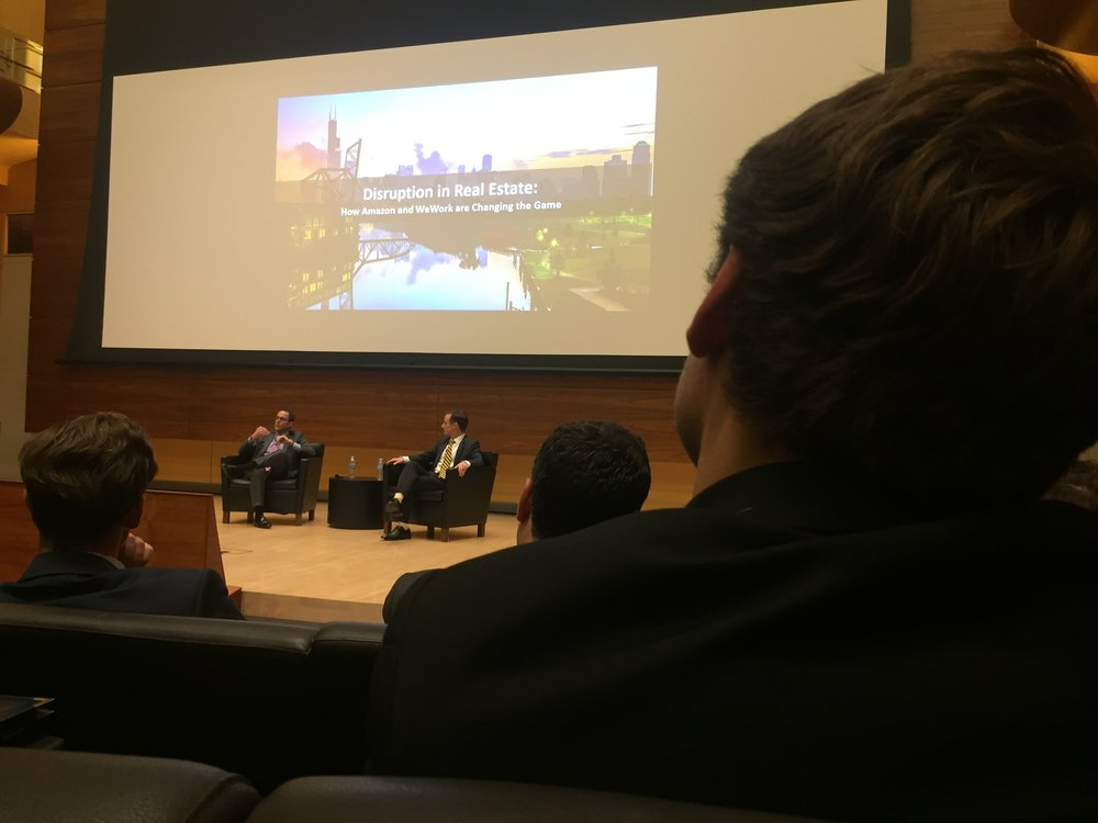 Jeff Blau (CEO, Related Cos.) discusses disruption in real estate with Dean Scott DeRue during his 2017 Keynote Address.