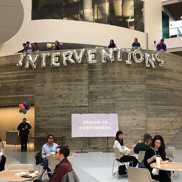 So excited to be speaking at the inaugural Interventions Conference today! Interventions is a student led design conference by @neuscout of @northeastern. I'll be speaking on a social impact panel regarding the prompt, Can design save the world? Already so impressed by these students and all their hard work putting together the event! 🇺🇸💖🎉