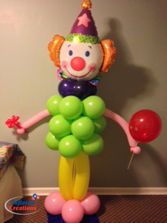Clown - Balloon Bundle Body