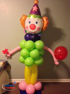 Clown Standing