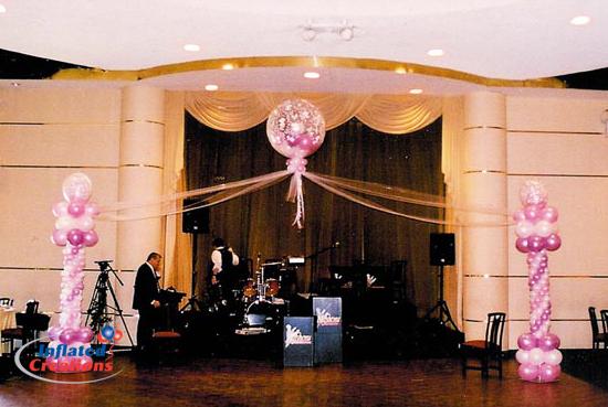 Dance Floor Columns