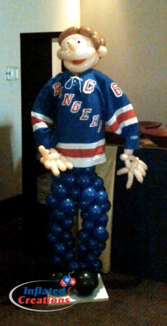 Ranger's Hockey Player