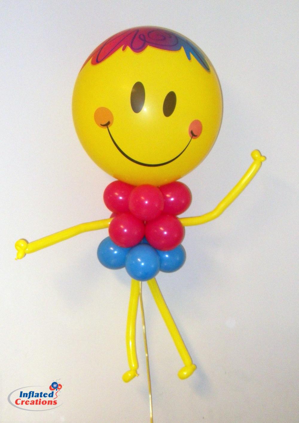 Smiley Bubble Guy