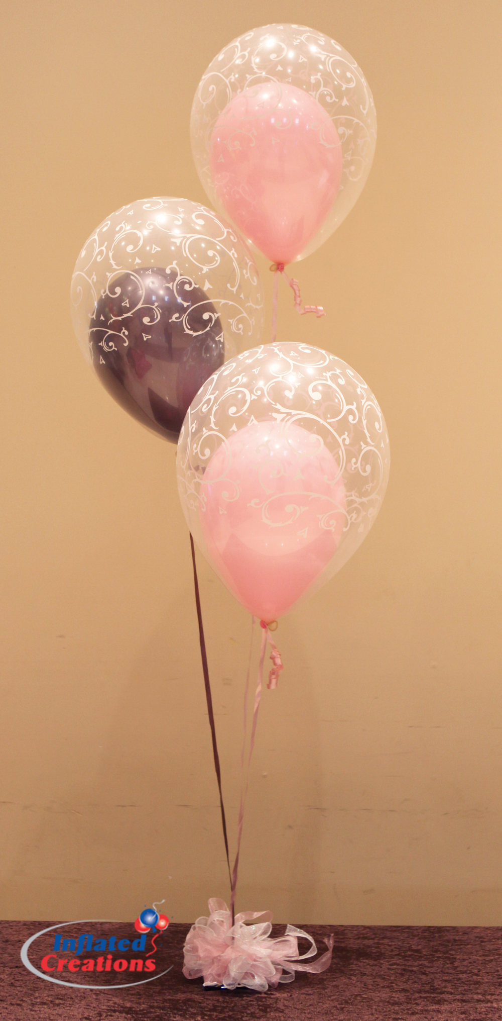 Double-Bubble Filigree - Latex