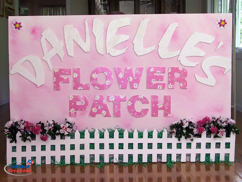 Entry Sign - Flower Patch