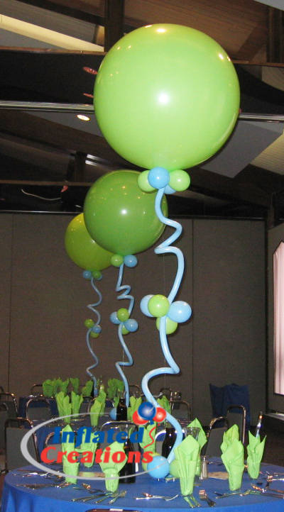 Three Foot Balloon with Squiggles