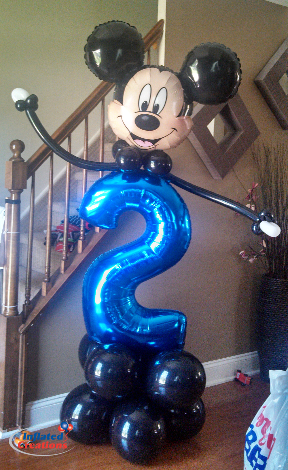 Megaloon Number - Mickey Mouse 2nd Birthday