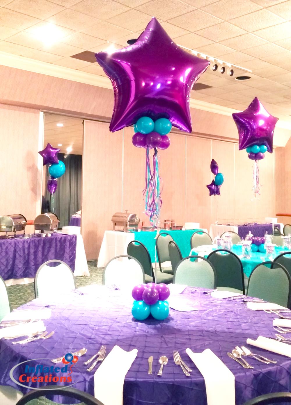 Mylar - Purple Star