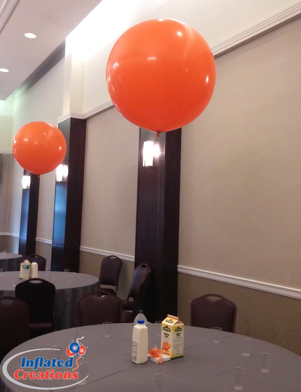 Big Impact Orange Centerpiece