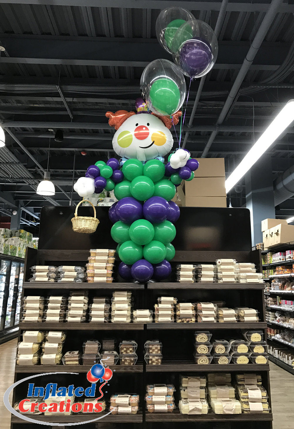 Happy Clown with Balloons
