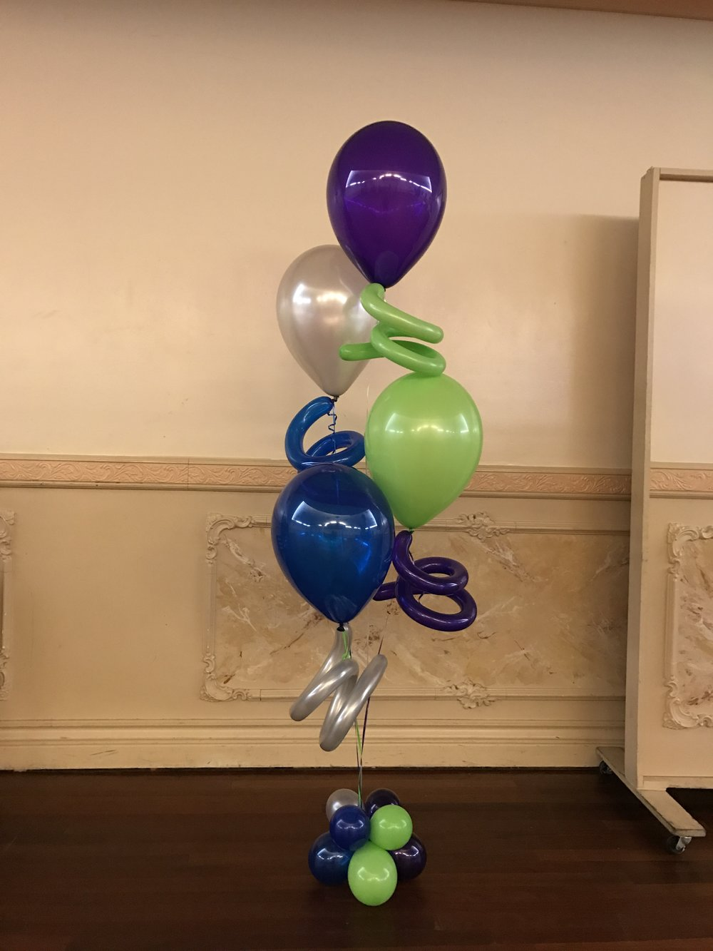 Balloons with Squiggles