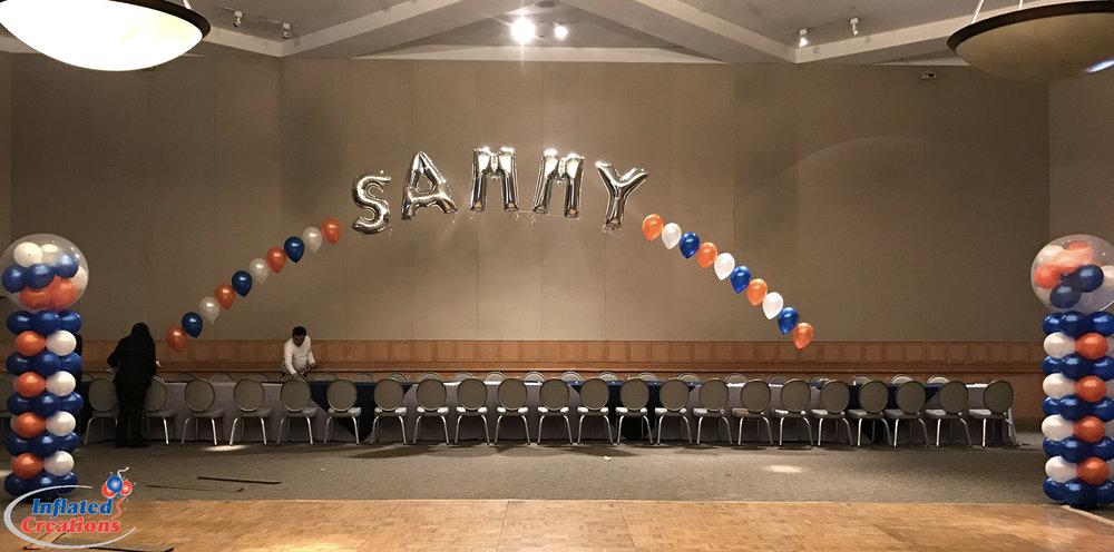 Sammy Name Arch