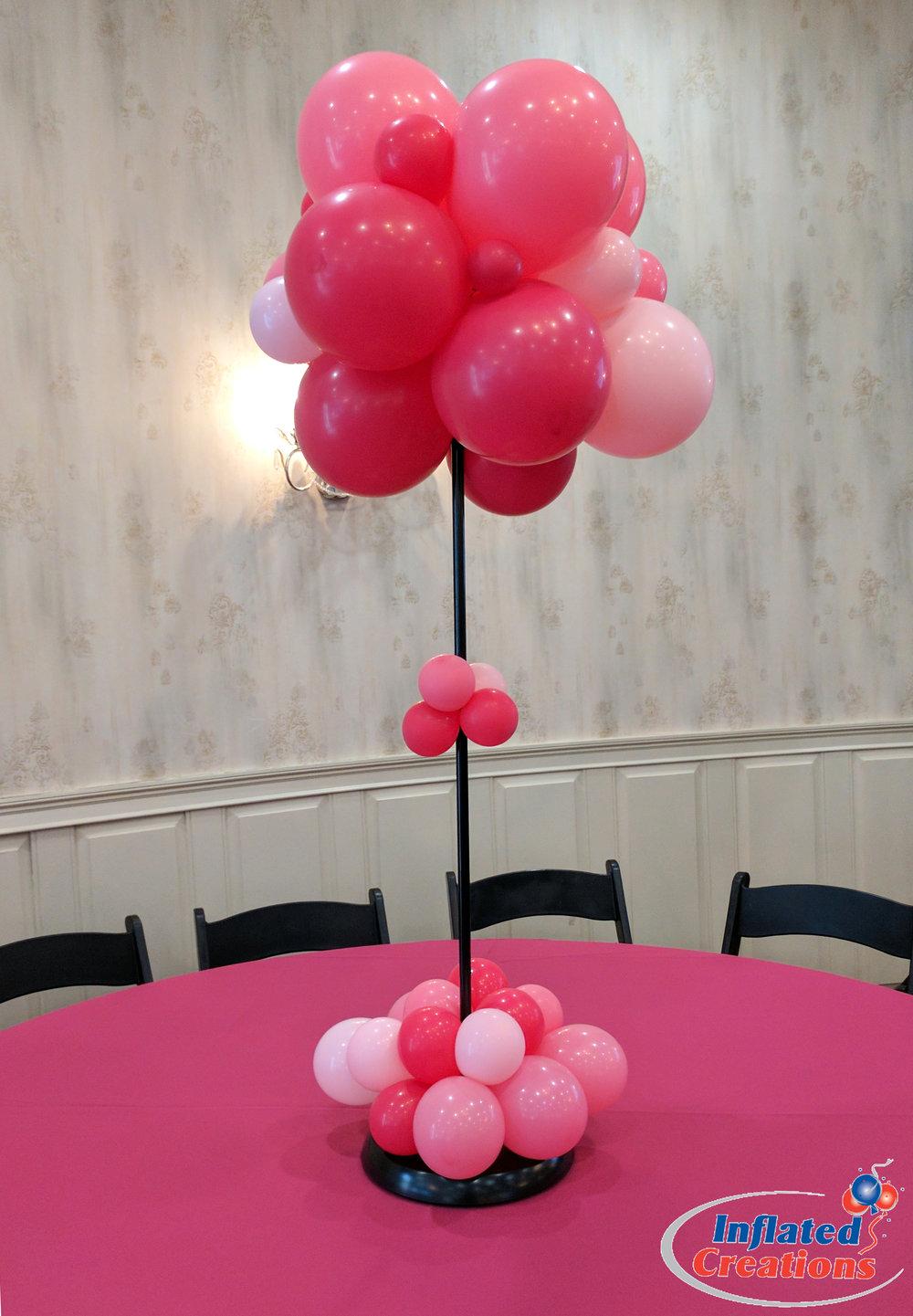 Columns - Pink Organic Puffball