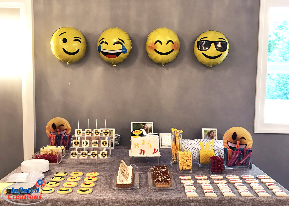Mylar - Emoji Party